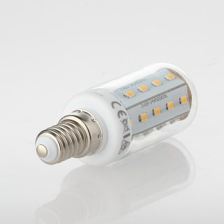 Leds light LED-Röhrenlampe E14/230V/4W (35W) klar 400 lm warmweiß